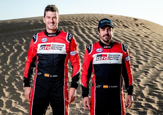 Dakar 2020. Toyota Gazoo Racing. Marc Coma dice di Fernando Alonso