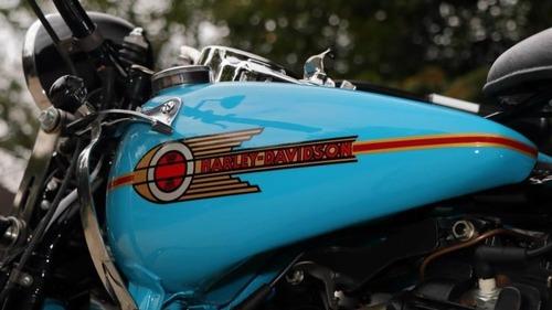 Harley Davidson Knucklehead: un esemplare del 1938 all'asta (4)