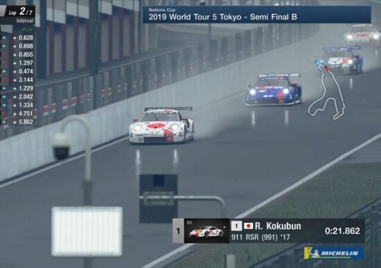 GT Sport World Tour Tokyo, tutti i risultati dal Giappone