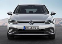 Volkswagen GOLF 8 2020 | Motori benzina, diesel, metano e ibrida da 90 a 245 CV