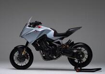 Honda CB4X concept a EICMA 2019