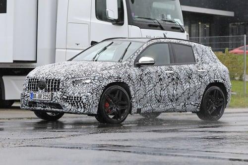Mercedes-AMG GLA 45, le foto spia (4)