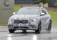 Mercedes-AMG GLA 45, le foto spia