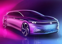 Volkswagen ID. Space Vizzion, debutto a Los Angeles