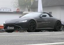 Aston Martin Vantage Volante: attesa per il 2020 [Foto spia]
