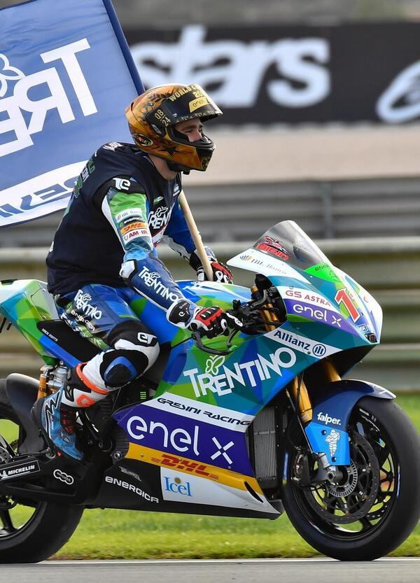 MotoE 2019. A Valencia doppietta di Eric Granado, Matteo Ferrari è campione