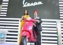 Svelata all'Auto Expo di Delhi la Vespa per il mercato indiano