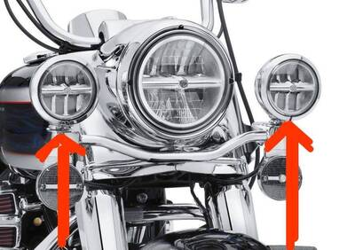 Passing lamps LED Auxiliary Lamps P/N 68000075 Harley-Davidson - Annuncio 7906026