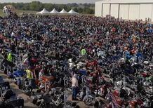 Harley-Davidson: in Texas il raduno da record del mondo