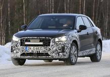 Audi Q2 restyling, le foto spia