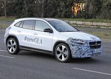 Nuova Mercedes GLA: le foto spia anticipano il debutto ufficiale