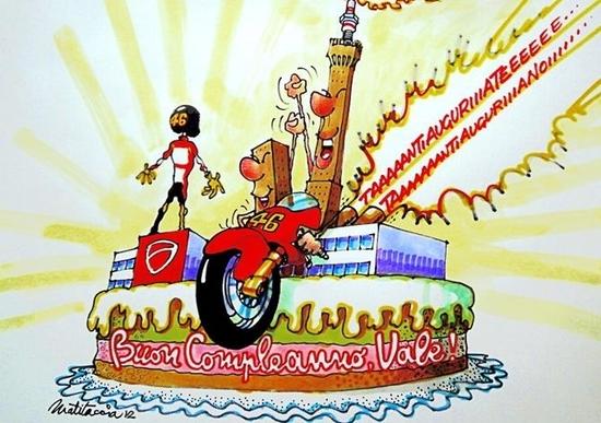 Buon Compleanno Valentino Motogp Moto It