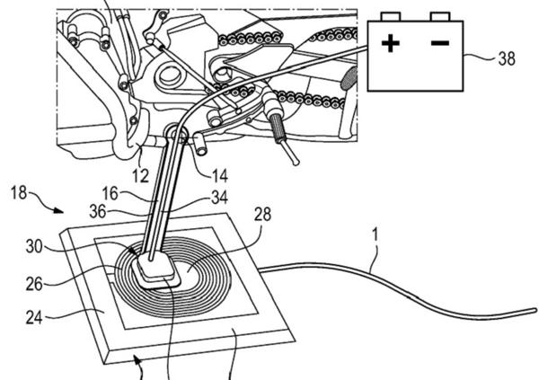 BMW, due nuovi brevetti per la moto elettrica del futuro