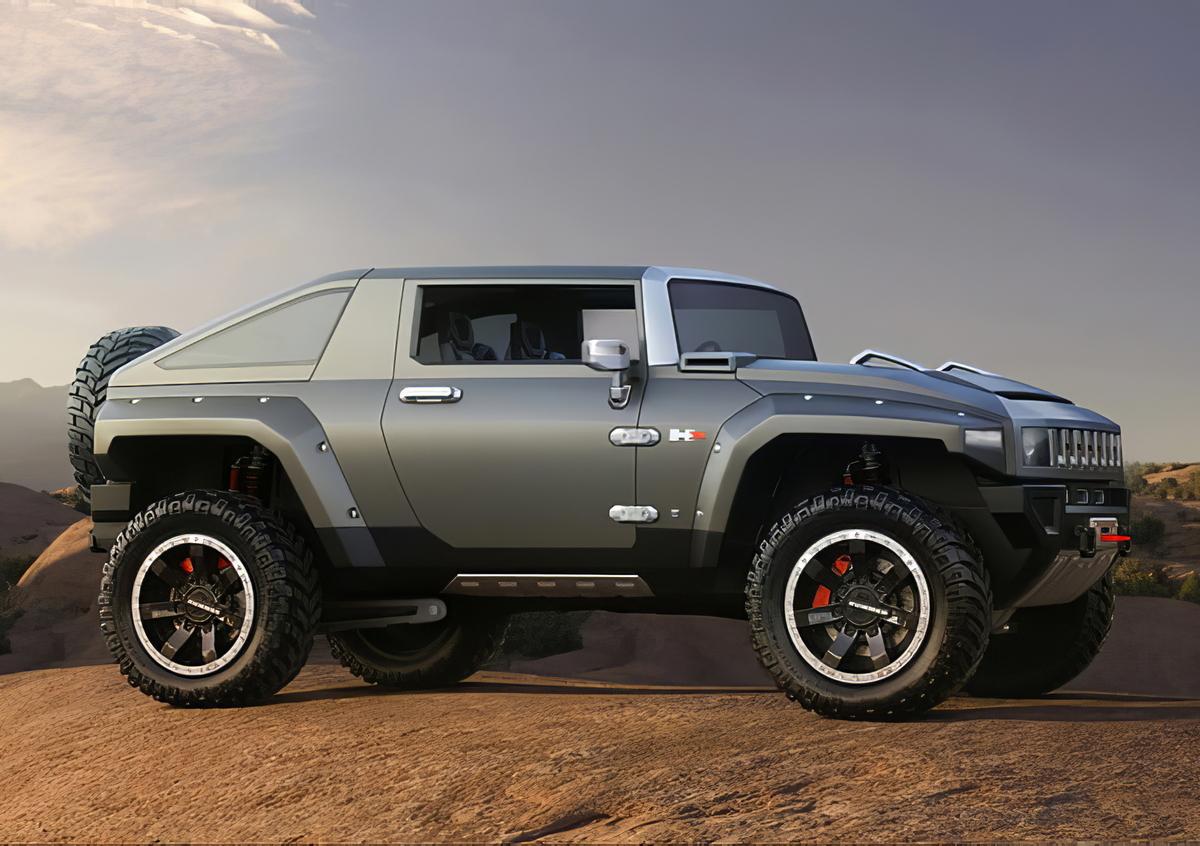 Il fuoristrada Hummer presenterà il nuovo modello elettrico?