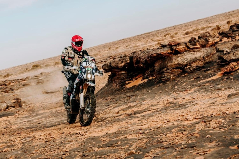 Africa Eco Race. D-9. L'anello di Tidjikja e il bis di Paolo Lucci