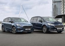 Ford S-Max e Galaxy, dal 2021 saranno anche ibride