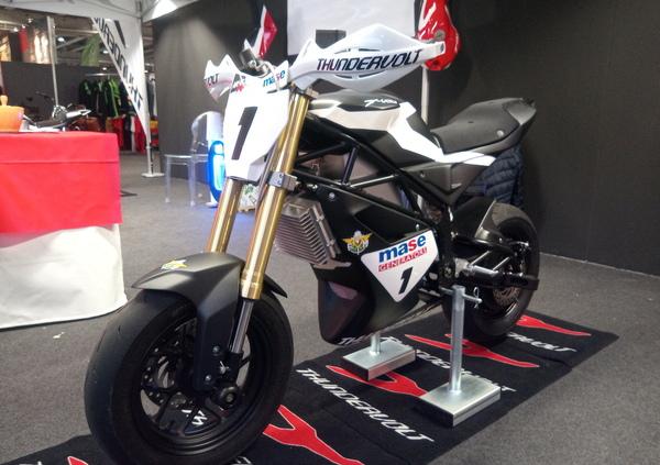 MBE 2020: Reggiani presenta il trofeo Thundervolt