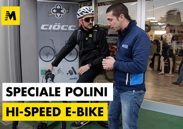 Polini Hi-Speed per e-bike. Massime prestazioni in pochi secondi
