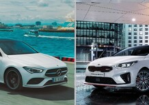 Quale Shooting-brake, Confronto: Mercedes CLA 250 Automatic Sport Vs Kia ProCeed GT