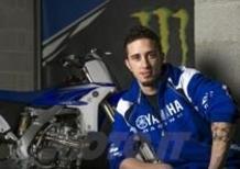 Andrea Dovizioso si allena con la moto da Cross