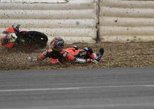 Haslam è il più veloce sotto la pioggia a Jerez nei test SBK