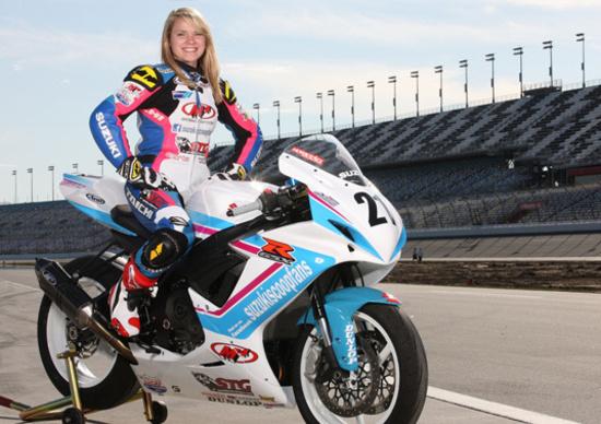 Elena Myers entra nella storia della 200 Miglia di Daytona