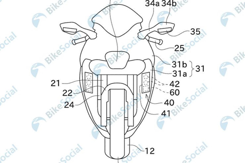 Kawasaki brevetta il cruise control adattivo con telecamere steroscopiche