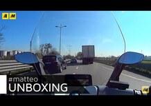 L'Unboxing di Matteo: BMW C-Evolution