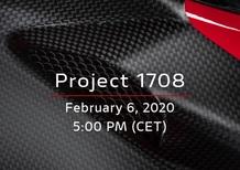 Ducati Superleggera V4, il project 1708 si svela oggi