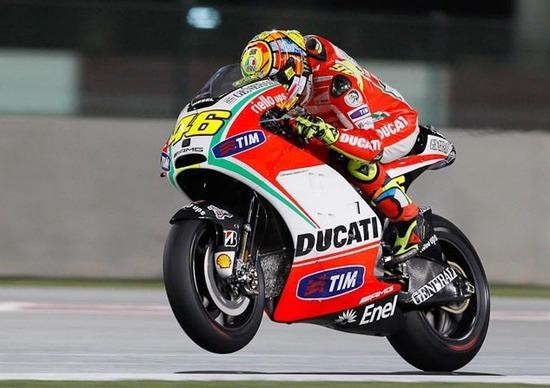 Valentino Rossi stanco della Ducati