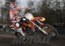 I Pirelli Scorpion MX monopolizzando il podio MX1 e MX2 in Olanda