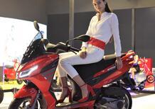 Aprilia SXR 160: presentato, e premiato, ad Auto Expo 2020