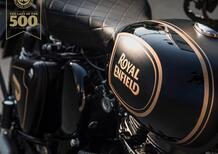Royal Enfield Classic 500 Tribute Black: sarà l'ultima Bullet