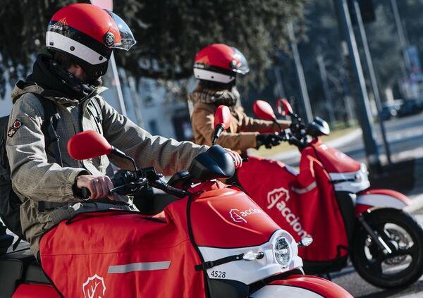 Scooter sharing. A Milano arriva Acciona