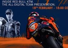 LIVE - La presentazione del team KTM MotoGP in streaming