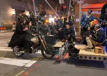 Matrix 4: Keanu Reeves in sella alla Ducati Scrambler 1100