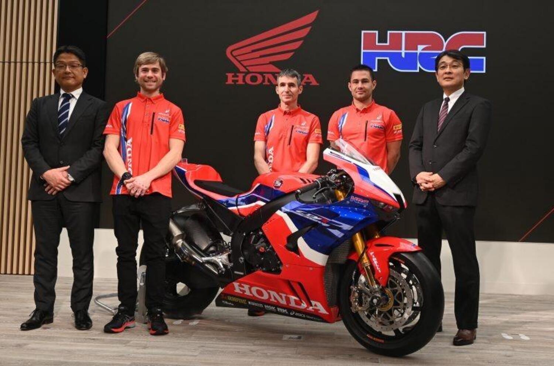 SBK. Honda HRC presenta moto e team