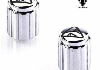 Coppia di copri valvole in alluminio Triumph - Annuncio 7998363