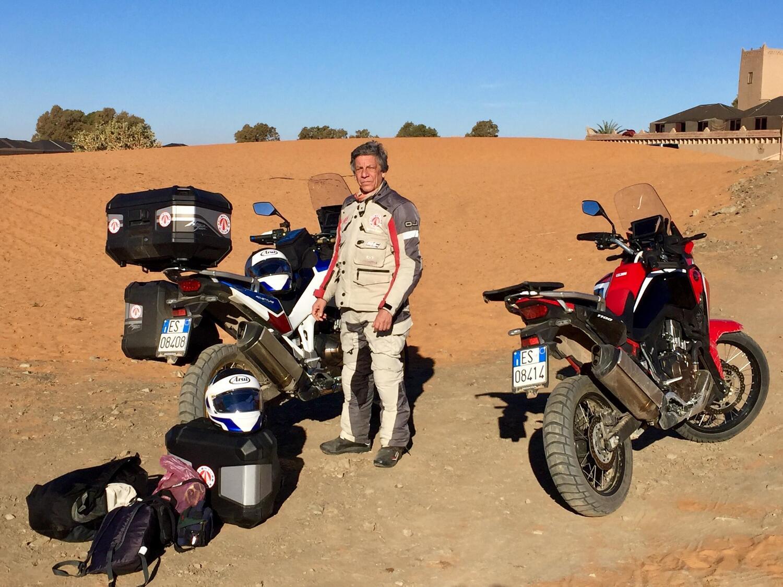 Renato Zocchi e le traversie di due giorni per rientrare dal Marocco