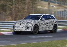 Jaguar F-Type SVR: alla ricerca del record al Ring [Foto spia]