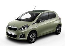 Peugeot 108: nuovi colori e interni rinfrescati per la citycar