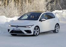 Nuova Volkswagen Golf R, per lei niente cinque cilindri Audi