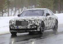 Rolls-Royce Ghost: rieccola, anche con il passo lungo [Foto spia]