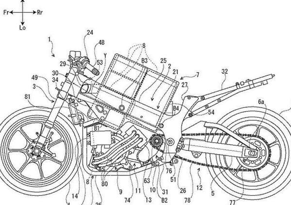 Suzuki. Spunta il brevetto di una moto elettrica