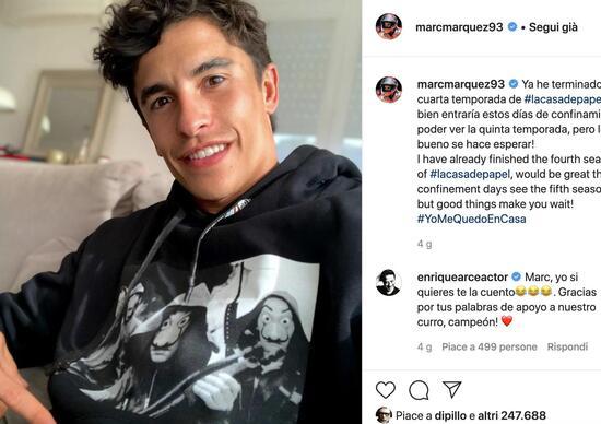 MotoGP. Marc Márquez, la quarantena e le incognite sul futuro della stagione