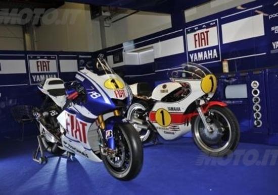Agostini e Dovizioso raccontano la storia di Yamaha nelle gare