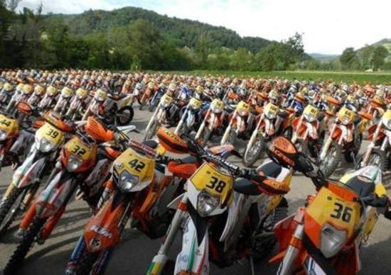 Trofeo Enduro KTM 2012. I risultati di Viano (Reggio Emilia). E il video del nostro volo...