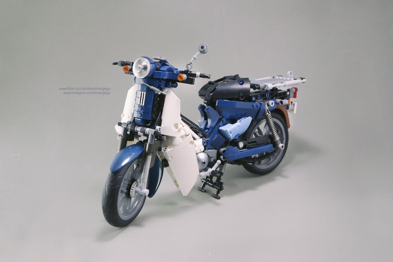 Honda Super Cub made in Vietnam. Fatto con il LEGO
