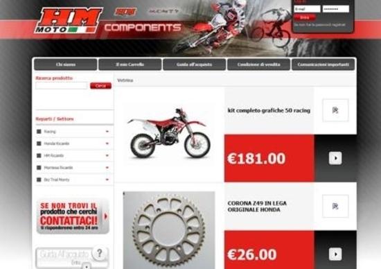 Nuovo sito Web per HM Components