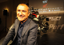 Svelata la Burasca 1200, la moto disegnata da Aldo Drudi